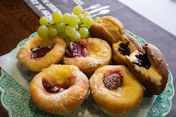 Funeral Catering: Brioche and Donuts