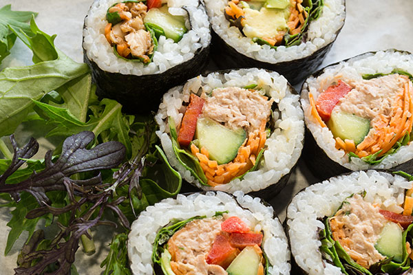 Funeral Catering: Sushi